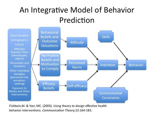 behavioral beliefs and attitudes towards behaviours Theory of planned behavior an hc3 research primer behavioral beliefs normative beliefs control beliefs behavioral beliefs produce a favorable or unfavorable attitude towards the behavior and guide considerations of positive and negative outcomes • if i make this decision, what.