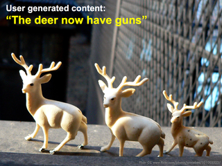 The deer now have guns - Lynetter