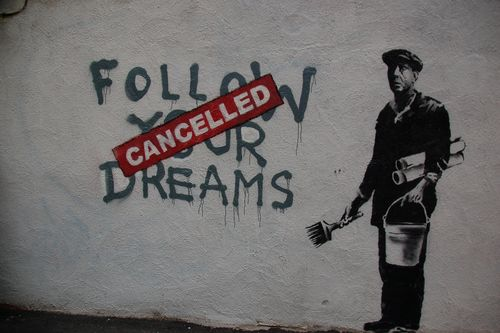 Banksy - Follow your dreams - cdevers_4602805654